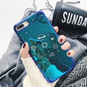 ⚠️LAST NEW iPhone XS Max Glossy Planet case